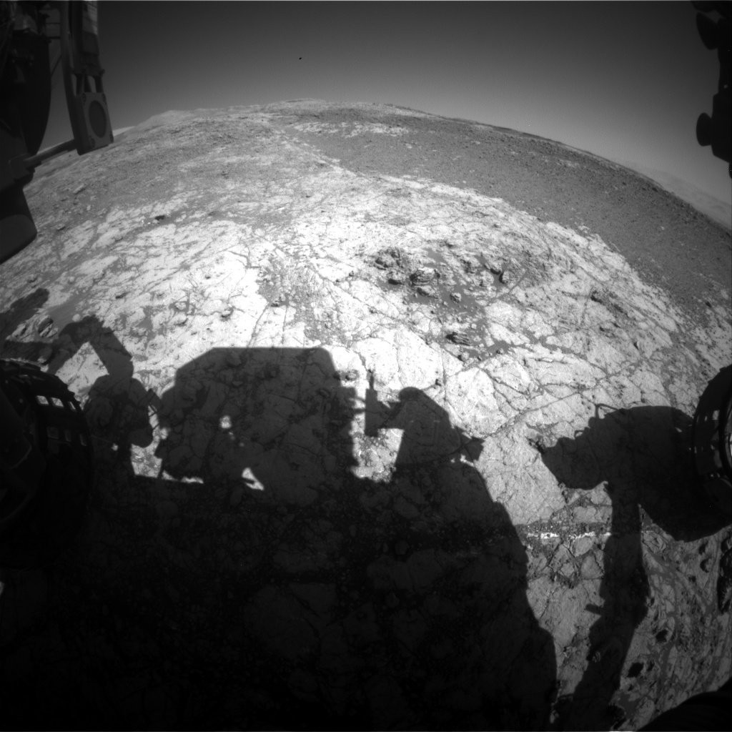 Nasa's Mars rover Curiosity acquired this image using its Front Hazard Avoidance Camera (Front Hazcam) on Sol 1936, at drive 2420, site number 67