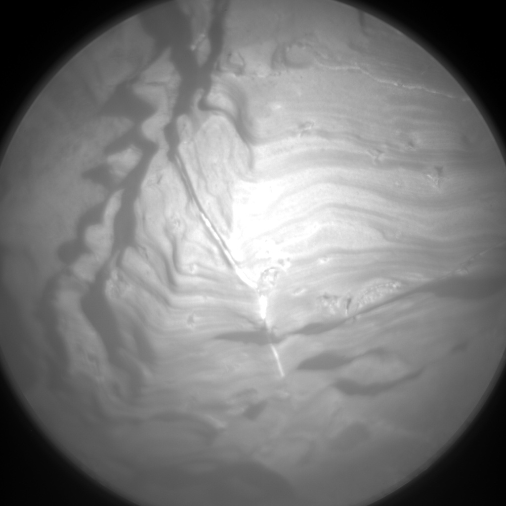 Nasa's Mars rover Curiosity acquired this image using its Chemistry & Camera (ChemCam) on Sol 1937, at drive 2420, site number 67