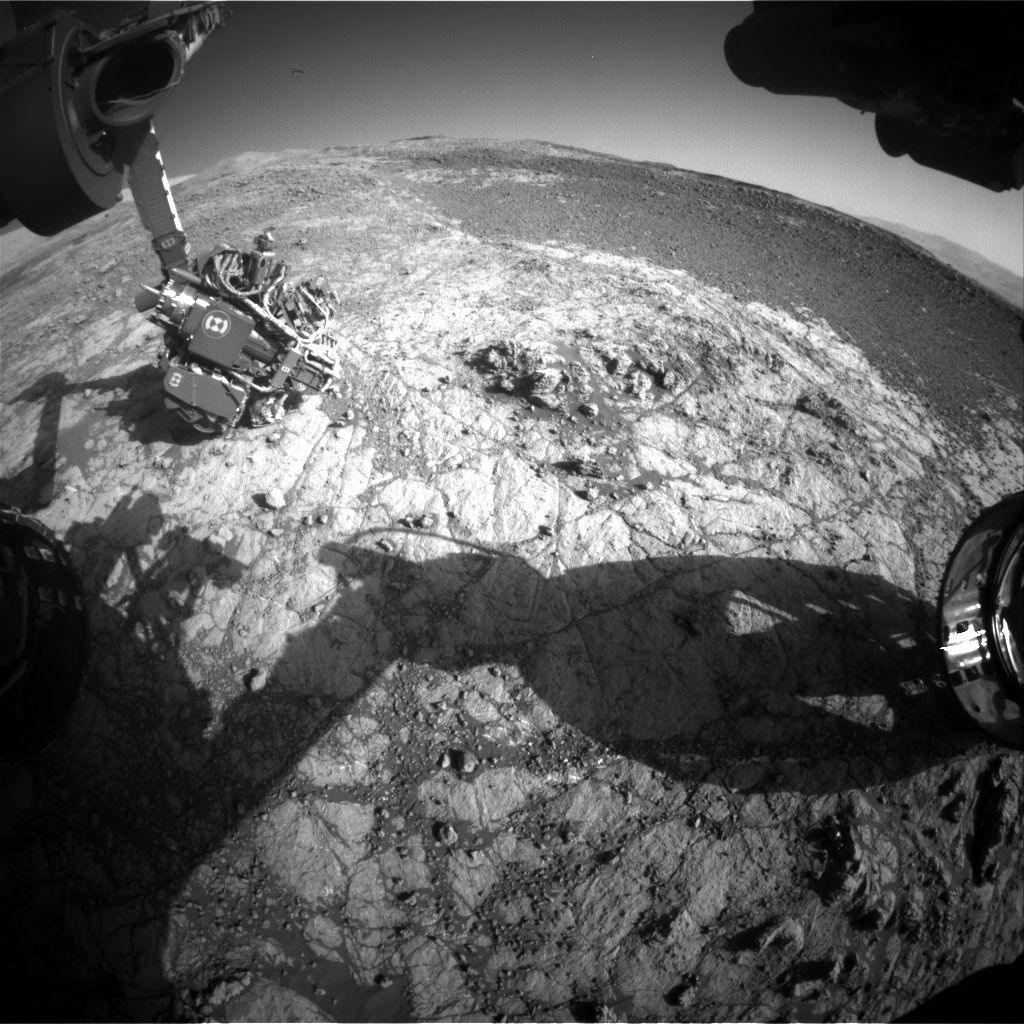 NASA's Mars rover Curiosity acquired this image using its Front Hazard Avoidance Cameras (Front Hazcams) on Sol 1937