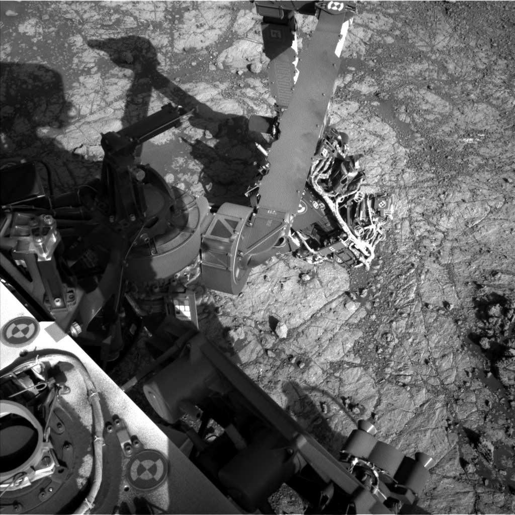 Nasa's Mars rover Curiosity acquired this image using its Left Navigation Camera on Sol 1937, at drive 2420, site number 67
