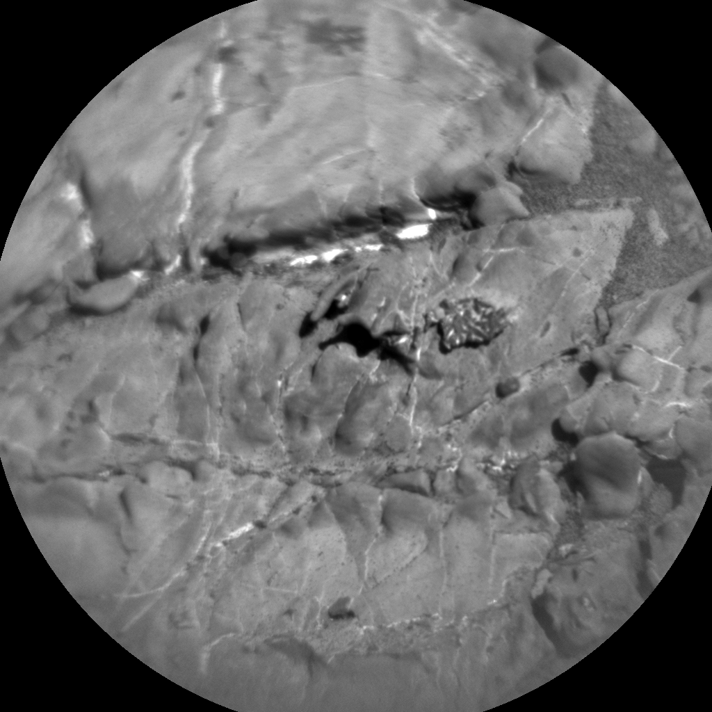 Nasa's Mars rover Curiosity acquired this image using its Chemistry & Camera (ChemCam) on Sol 1938, at drive 2420, site number 67