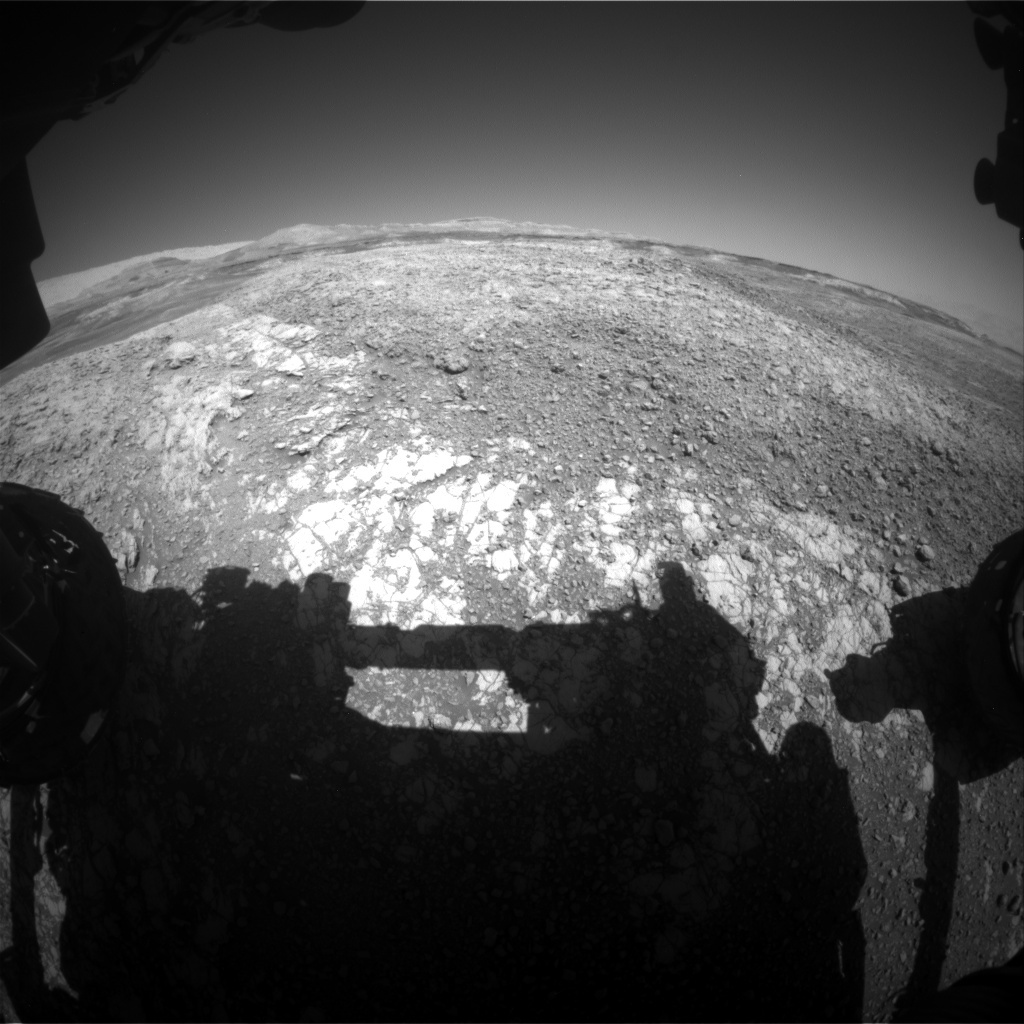 NASA's Mars rover Curiosity acquired this image using its Front Hazard Avoidance Cameras (Front Hazcams) on Sol 1939