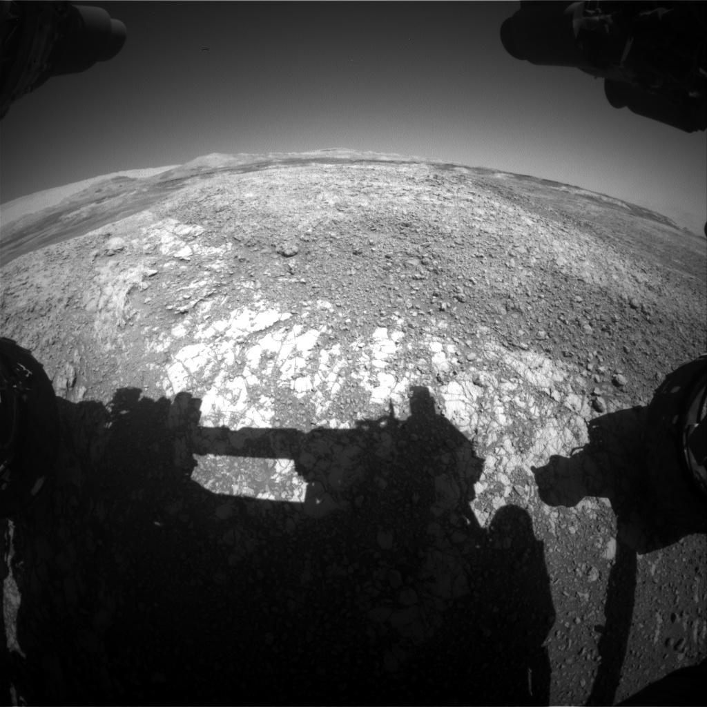 Nasa's Mars rover Curiosity acquired this image using its Front Hazard Avoidance Camera (Front Hazcam) on Sol 1939, at drive 2478, site number 67