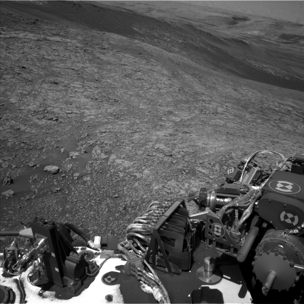 Nasa's Mars rover Curiosity acquired this image using its Left Navigation Camera on Sol 1939, at drive 2478, site number 67