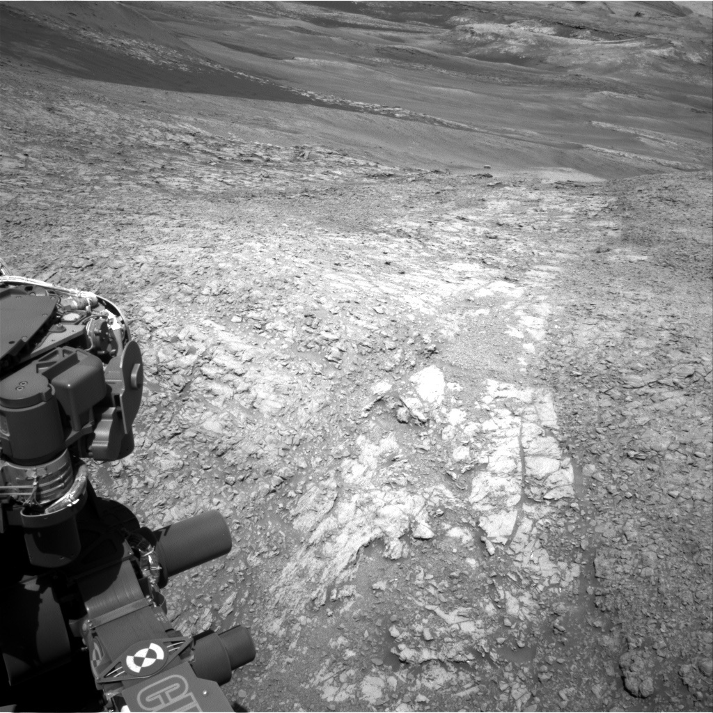 NASA's Mars rover Curiosity acquired this image using its Right Navigation Cameras (Navcams) on Sol 1939
