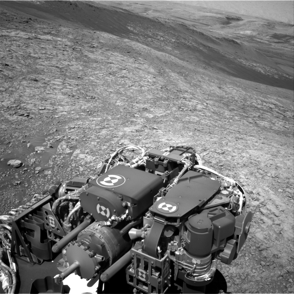 Nasa's Mars rover Curiosity acquired this image using its Right Navigation Camera on Sol 1939, at drive 2478, site number 67