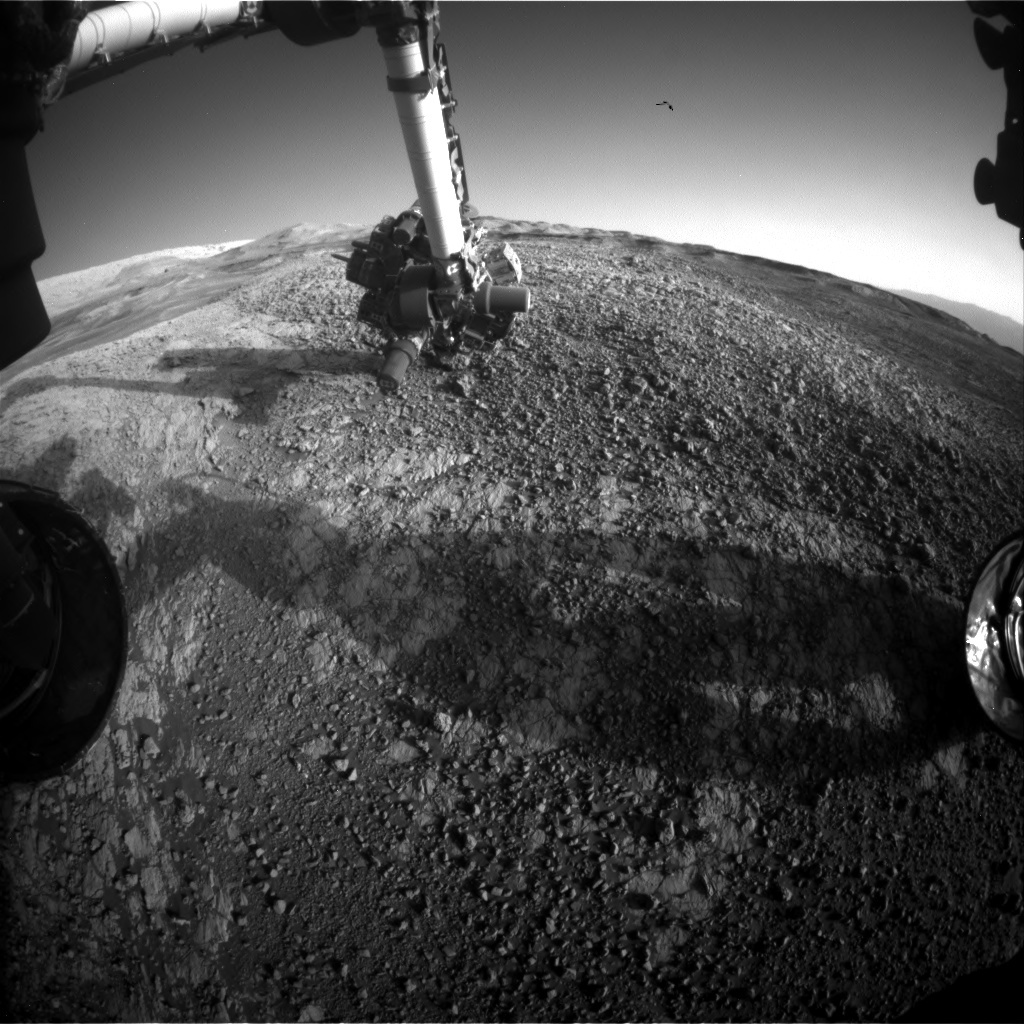 NASA's Mars rover Curiosity acquired this image using its Front Hazard Avoidance Cameras (Front Hazcams) on Sol 1940