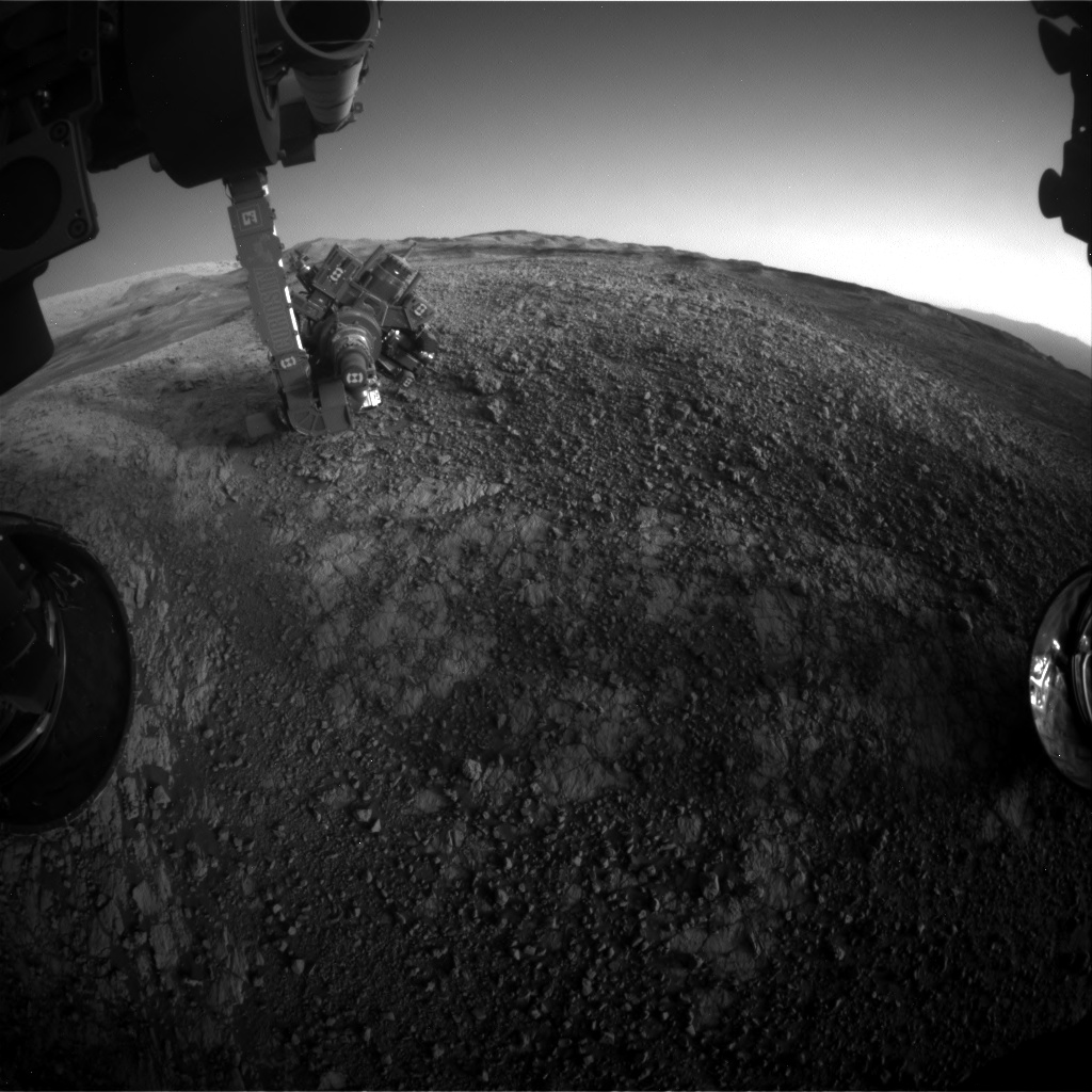 Nasa's Mars rover Curiosity acquired this image using its Front Hazard Avoidance Camera (Front Hazcam) on Sol 1940, at drive 2478, site number 67