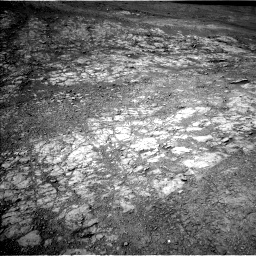 Nasa's Mars rover Curiosity acquired this image using its Left Navigation Camera on Sol 1942, at drive 2556, site number 67
