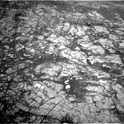Nasa's Mars rover Curiosity acquired this image using its Left Navigation Camera on Sol 1942, at drive 2610, site number 67