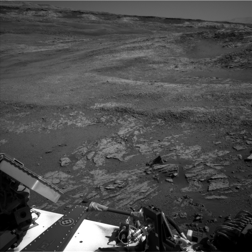 Nasa's Mars rover Curiosity acquired this image using its Left Navigation Camera on Sol 1942, at drive 2748, site number 67