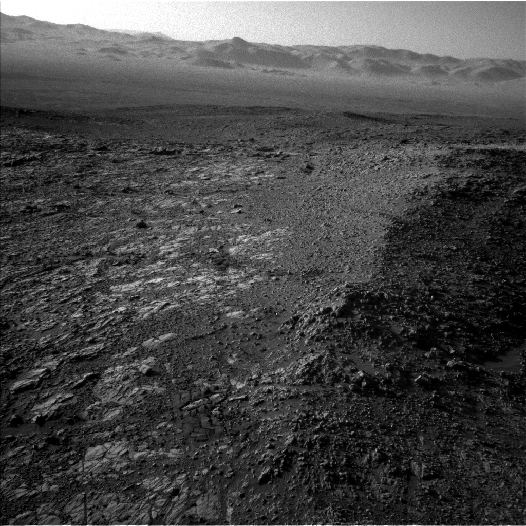 Nasa's Mars rover Curiosity acquired this image using its Left Navigation Camera on Sol 1942, at drive 2764, site number 67