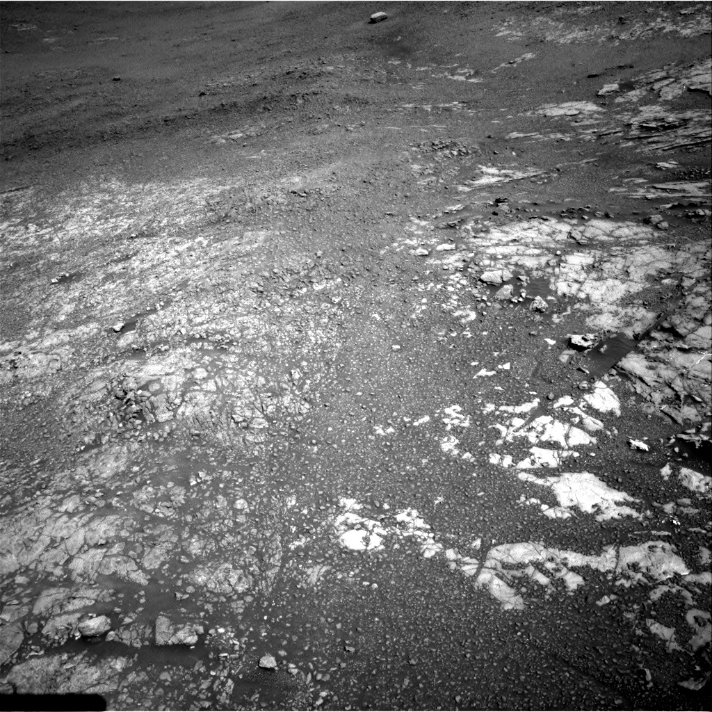 Nasa's Mars rover Curiosity acquired this image using its Right Navigation Camera on Sol 1942, at drive 2658, site number 67