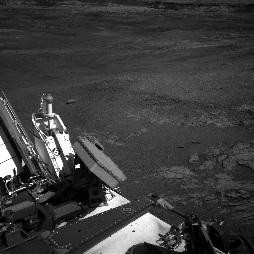 Nasa's Mars rover Curiosity acquired this image using its Right Navigation Camera on Sol 1942, at drive 2748, site number 67