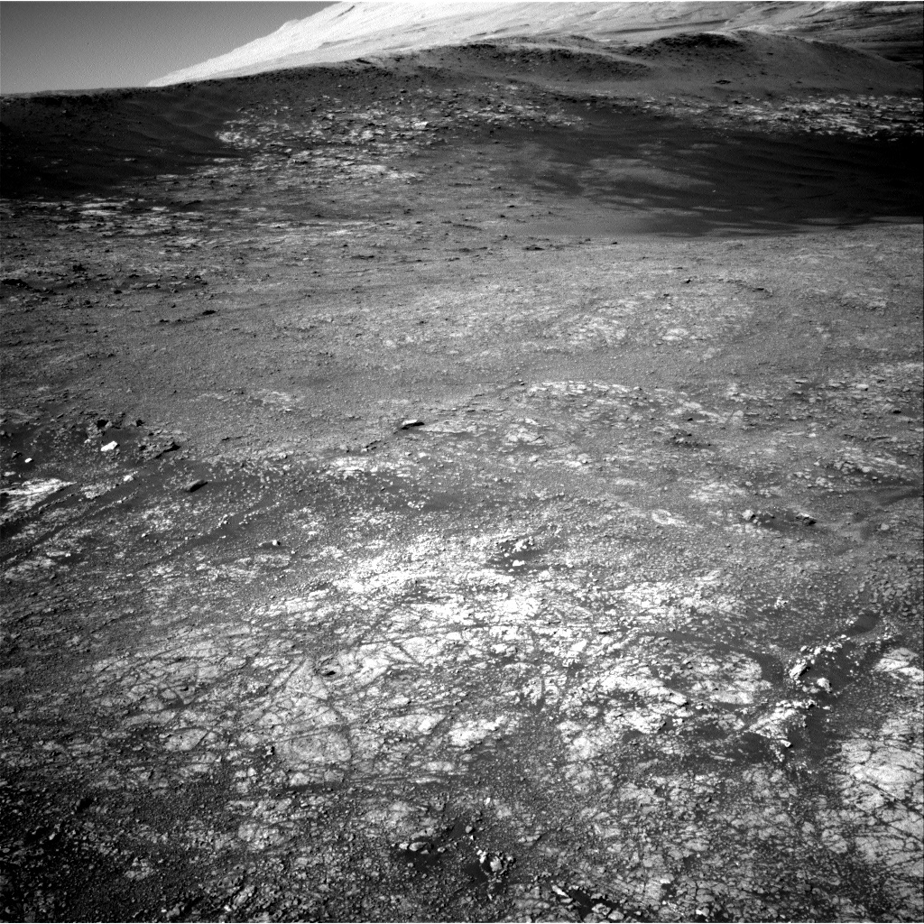 NASA's Mars rover Curiosity acquired this image using its Right Navigation Cameras (Navcams) on Sol 1942
