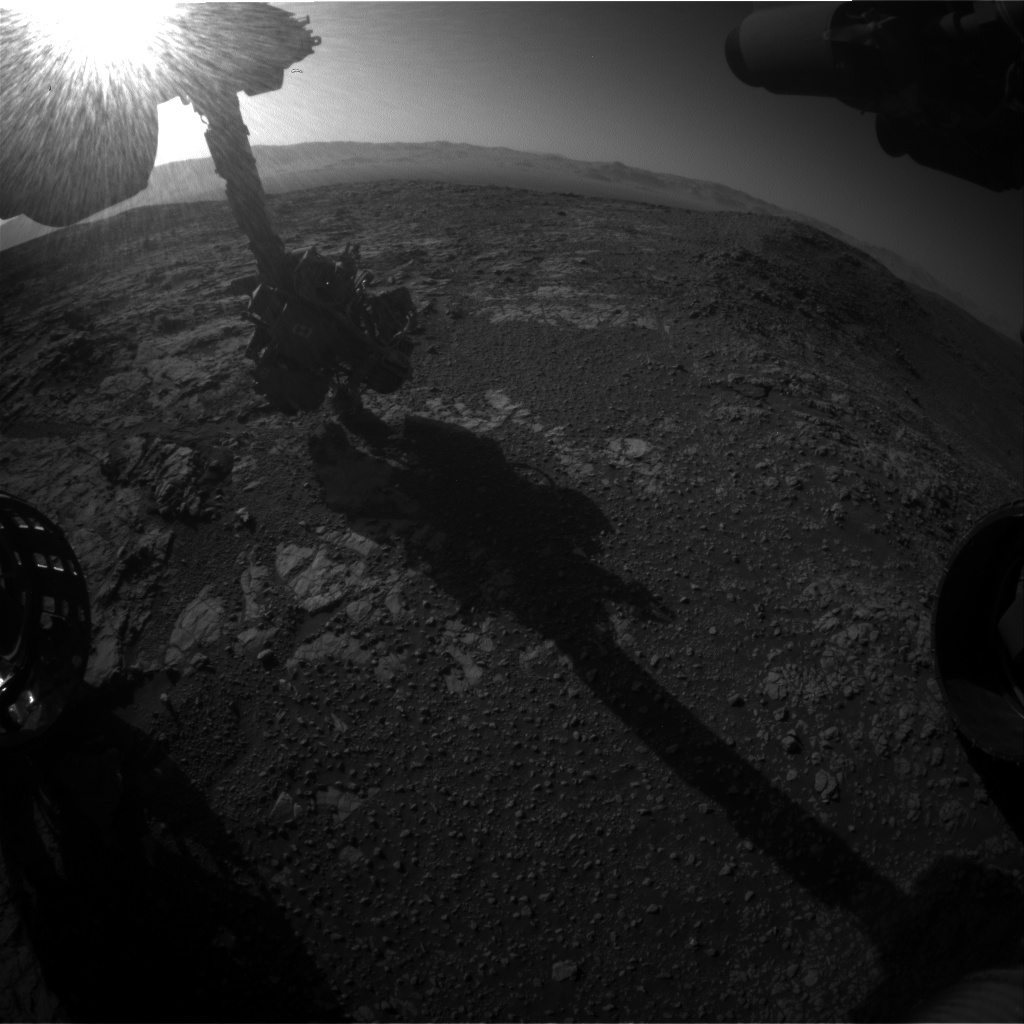Nasa's Mars rover Curiosity acquired this image using its Front Hazard Avoidance Camera (Front Hazcam) on Sol 1943, at drive 2764, site number 67