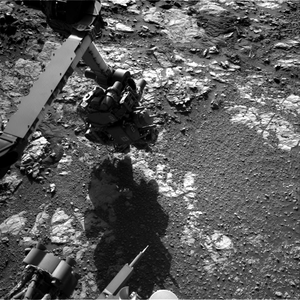 Nasa's Mars rover Curiosity acquired this image using its Right Navigation Camera on Sol 1943, at drive 2764, site number 67