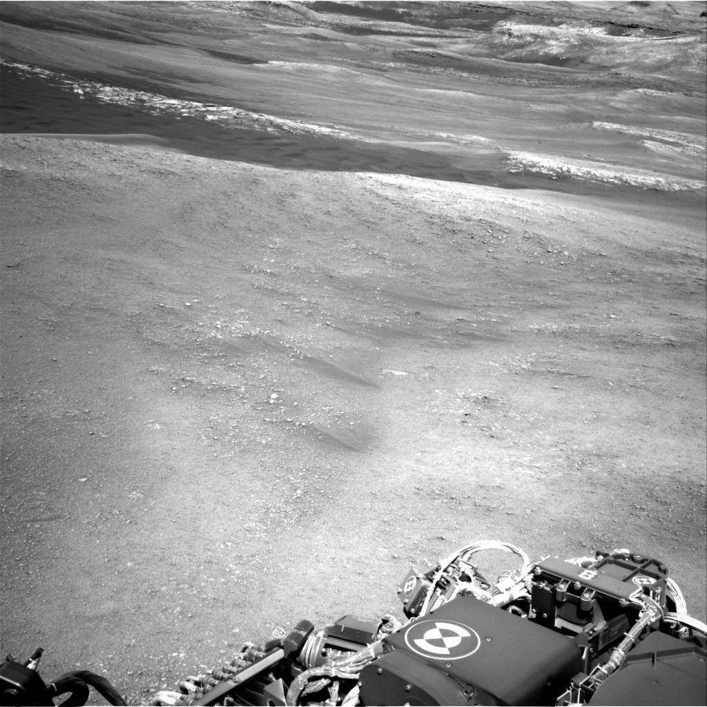 NASA's Mars rover Curiosity acquired this image using its Right Navigation Cameras (Navcams) on Sol 1944