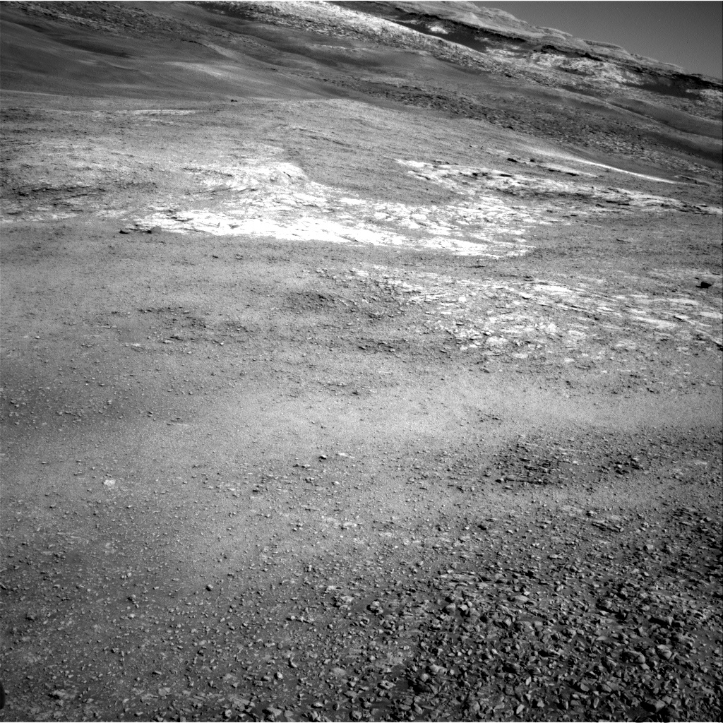 Nasa's Mars rover Curiosity acquired this image using its Right Navigation Camera on Sol 1944, at drive 2884, site number 67