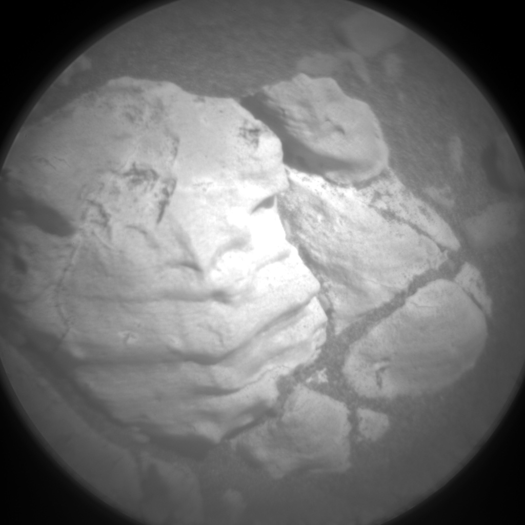 Nasa's Mars rover Curiosity acquired this image using its Chemistry & Camera (ChemCam) on Sol 1945, at drive 2884, site number 67
