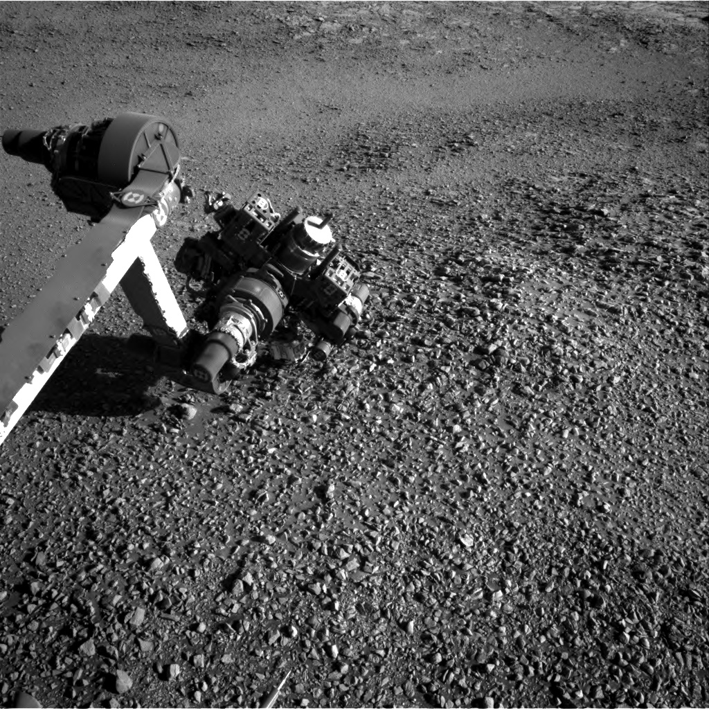 Nasa's Mars rover Curiosity acquired this image using its Right Navigation Camera on Sol 1945, at drive 2884, site number 67