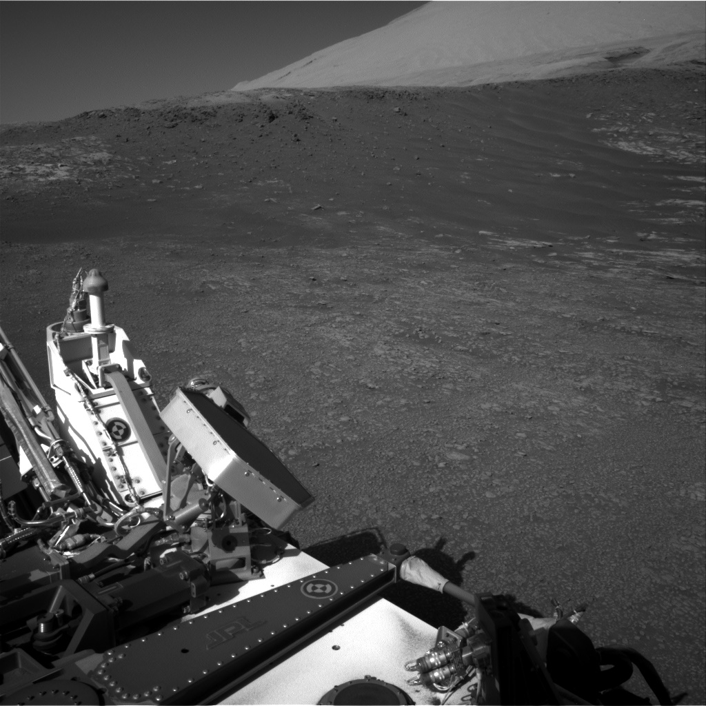 Nasa's Mars rover Curiosity acquired this image using its Right Navigation Camera on Sol 1946, at drive 3172, site number 67
