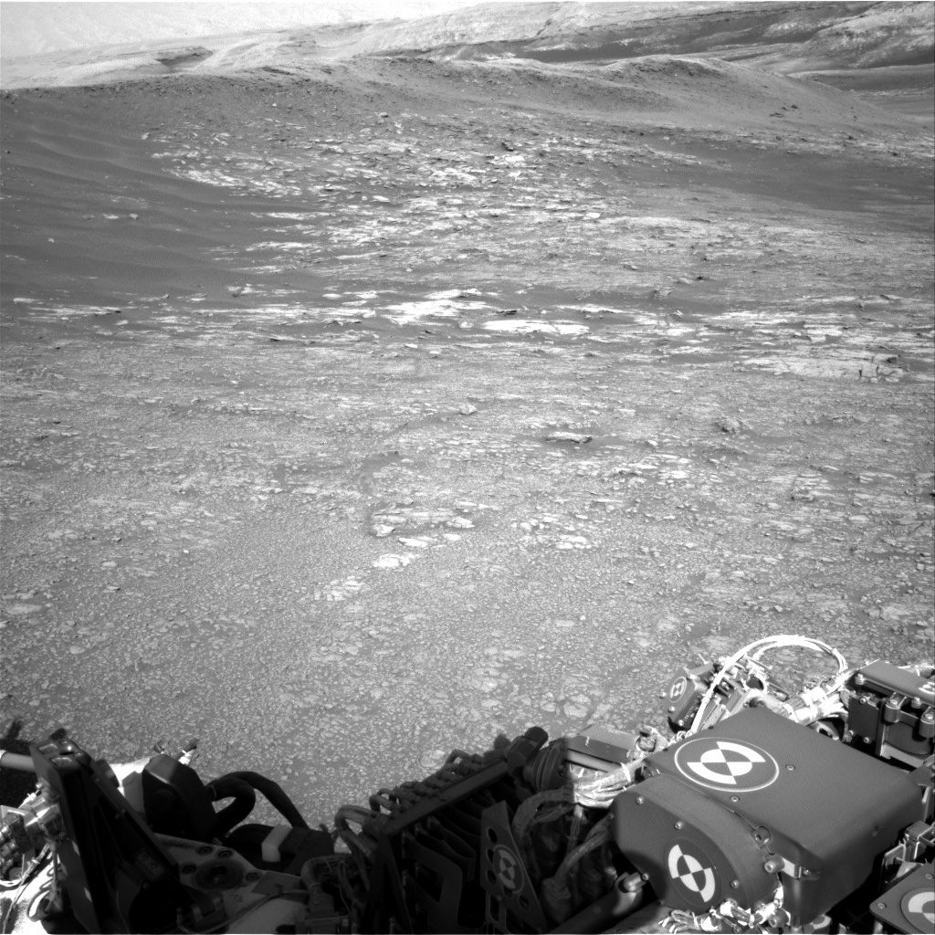 NASA's Mars rover Curiosity acquired this image using its Right Navigation Cameras (Navcams) on Sol 1946