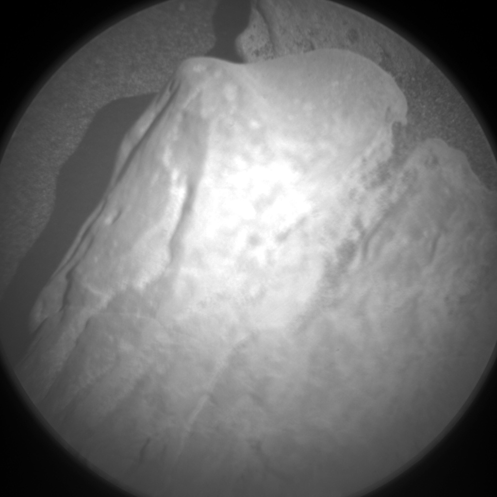 Nasa's Mars rover Curiosity acquired this image using its Chemistry & Camera (ChemCam) on Sol 1947, at drive 3172, site number 67