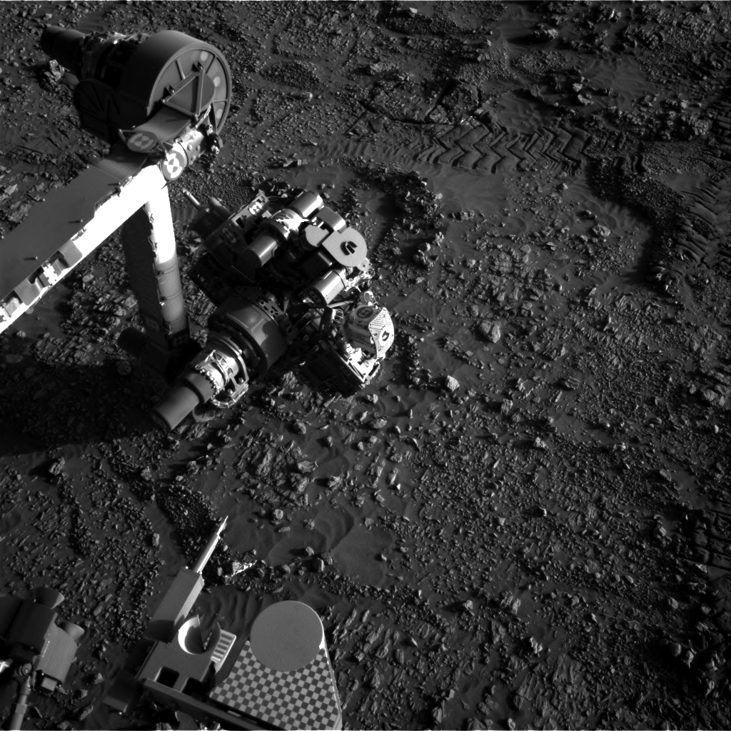 Nasa's Mars rover Curiosity acquired this image using its Right Navigation Camera on Sol 1947, at drive 3172, site number 67