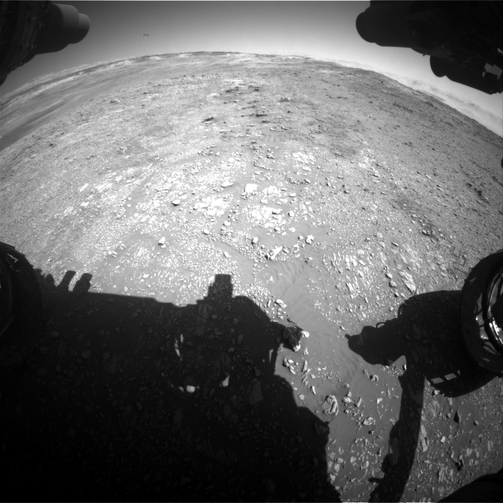Nasa's Mars rover Curiosity acquired this image using its Front Hazard Avoidance Camera (Front Hazcam) on Sol 1948, at drive 3172, site number 67