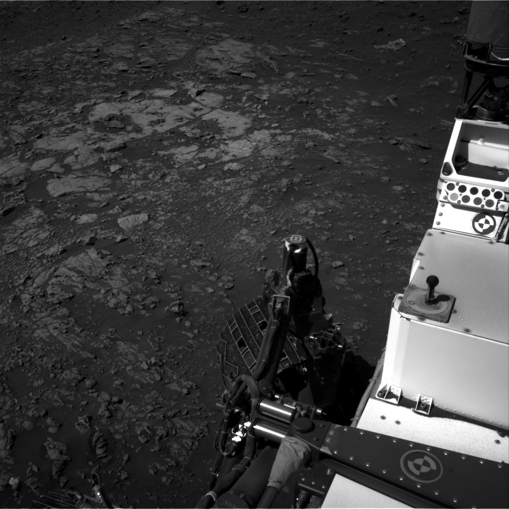 Nasa's Mars rover Curiosity acquired this image using its Right Navigation Camera on Sol 1949, at drive 3280, site number 67