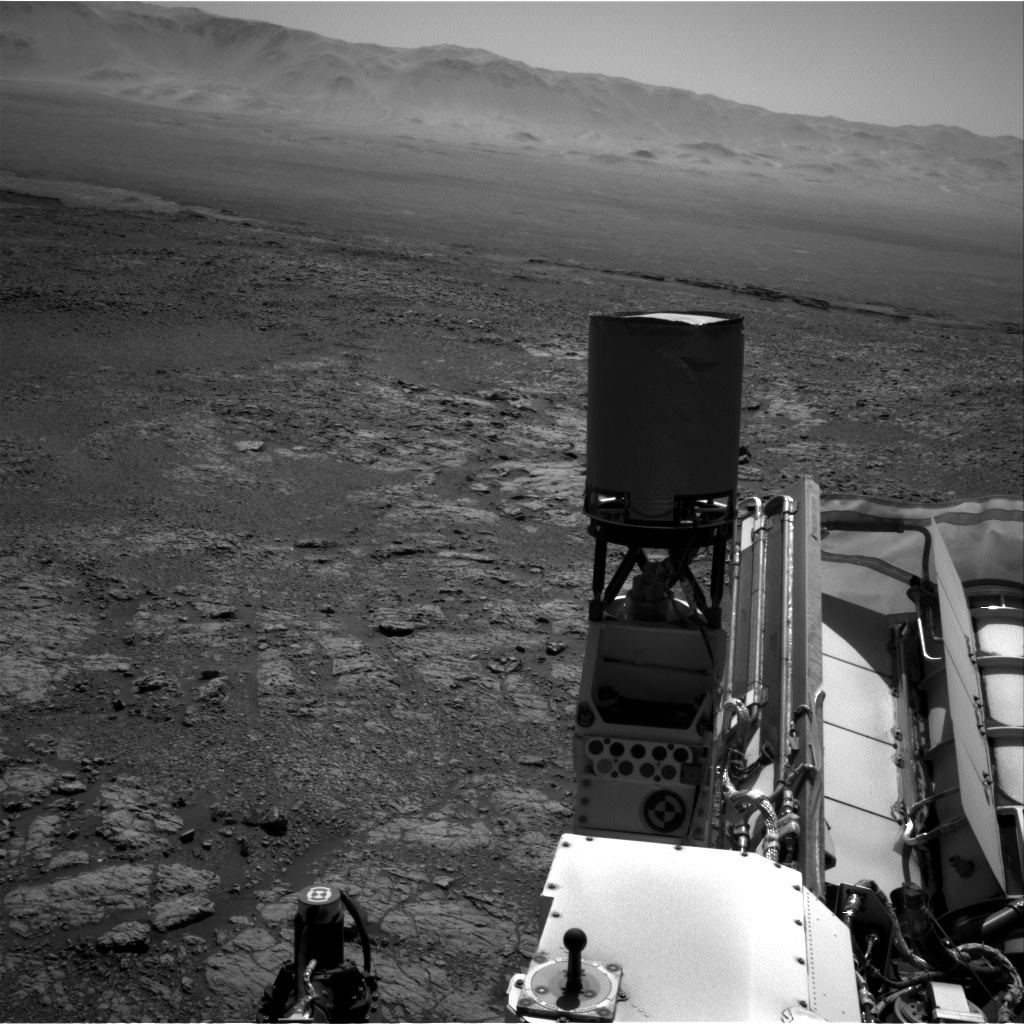 Nasa's Mars rover Curiosity acquired this image using its Right Navigation Camera on Sol 1949, at drive 3334, site number 67