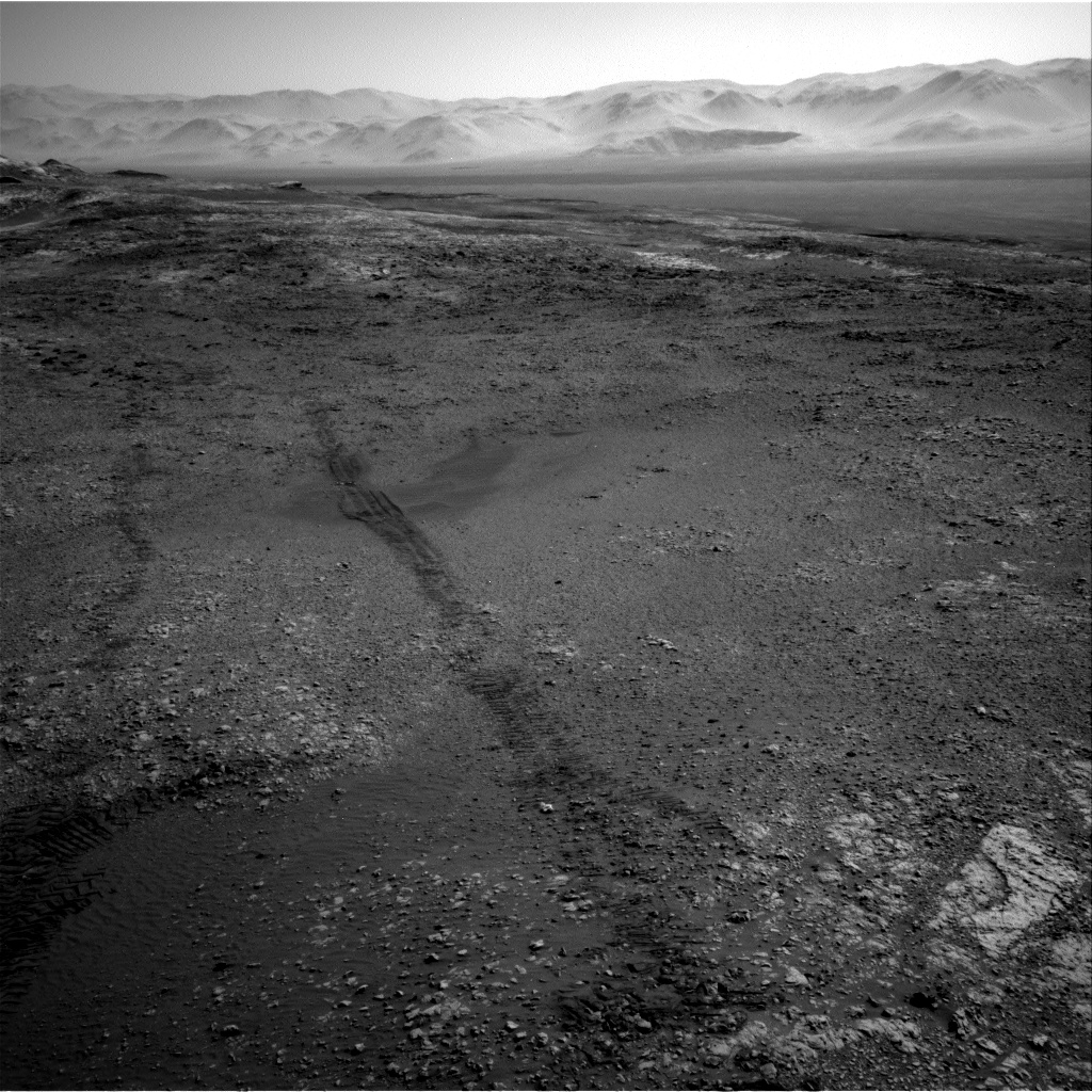 Nasa's Mars rover Curiosity acquired this image using its Right Navigation Camera on Sol 1949, at drive 0, site number 68