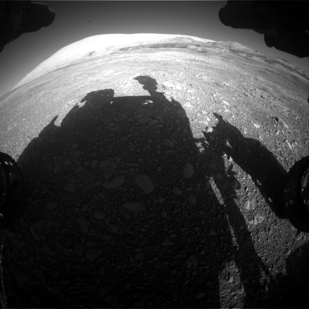 Nasa's Mars rover Curiosity acquired this image using its Front Hazard Avoidance Camera (Front Hazcam) on Sol 1950, at drive 214, site number 68