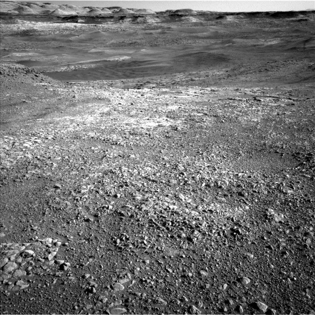 Nasa's Mars rover Curiosity acquired this image using its Left Navigation Camera on Sol 1950, at drive 214, site number 68