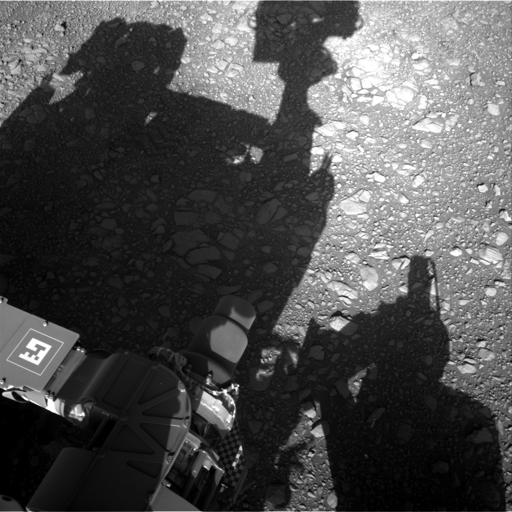 Nasa's Mars rover Curiosity acquired this image using its Right Navigation Camera on Sol 1950, at drive 214, site number 68