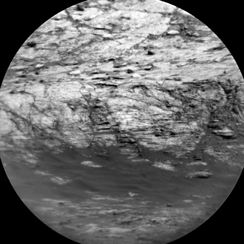 Nasa's Mars rover Curiosity acquired this image using its Chemistry & Camera (ChemCam) on Sol 1950, at drive 0, site number 68