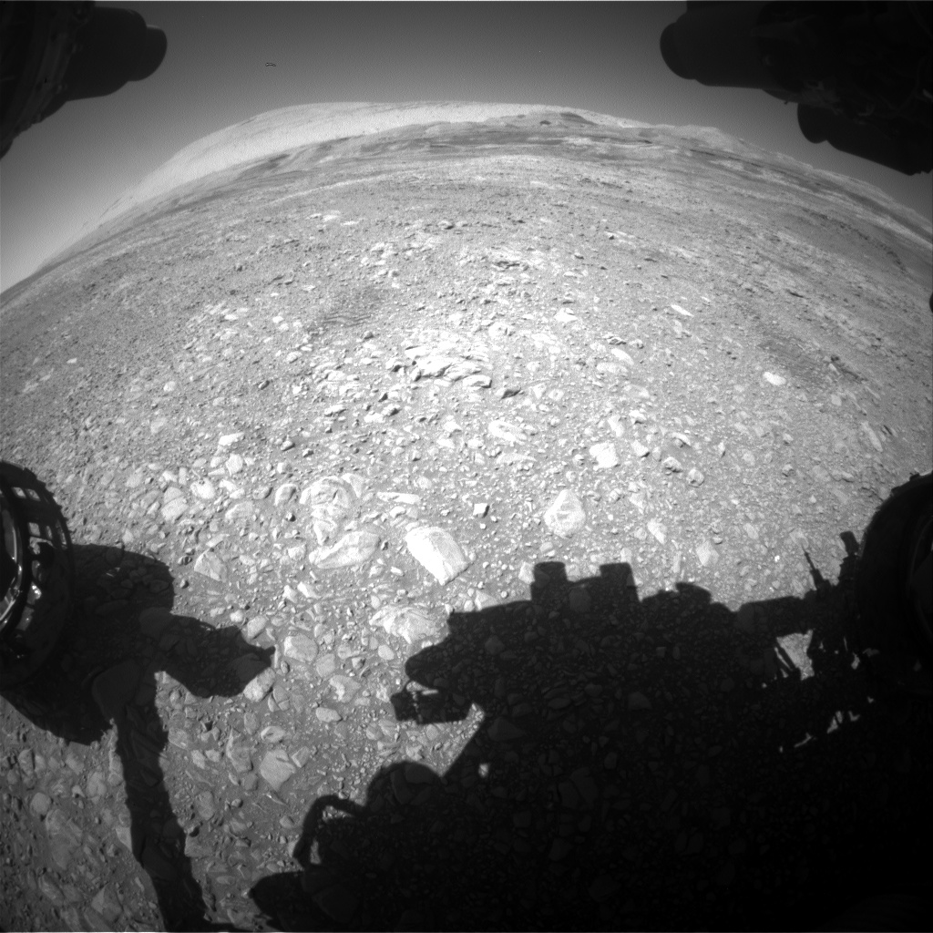 Nasa's Mars rover Curiosity acquired this image using its Front Hazard Avoidance Camera (Front Hazcam) on Sol 1951, at drive 214, site number 68