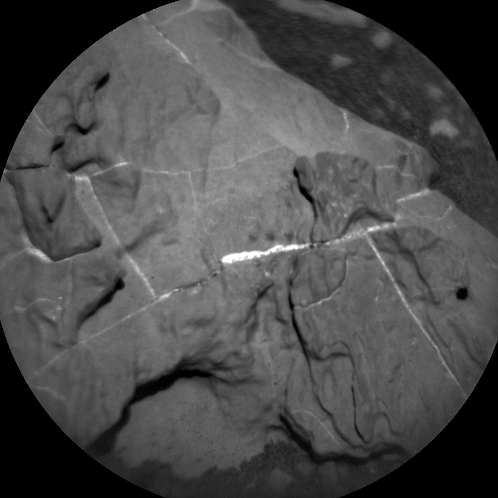 Nasa's Mars rover Curiosity acquired this image using its Chemistry & Camera (ChemCam) on Sol 1951, at drive 214, site number 68