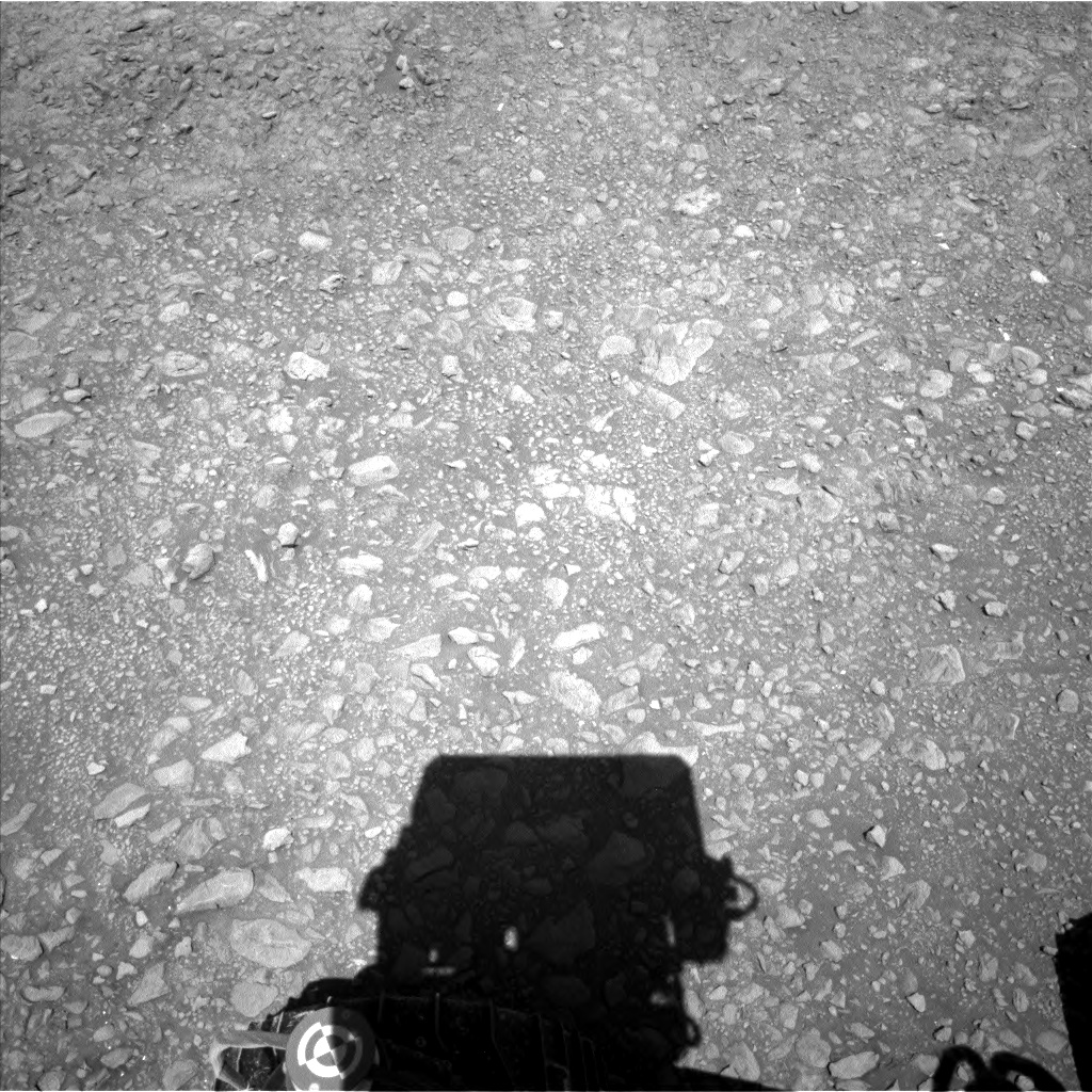 Nasa's Mars rover Curiosity acquired this image using its Left Navigation Camera on Sol 1953, at drive 214, site number 68