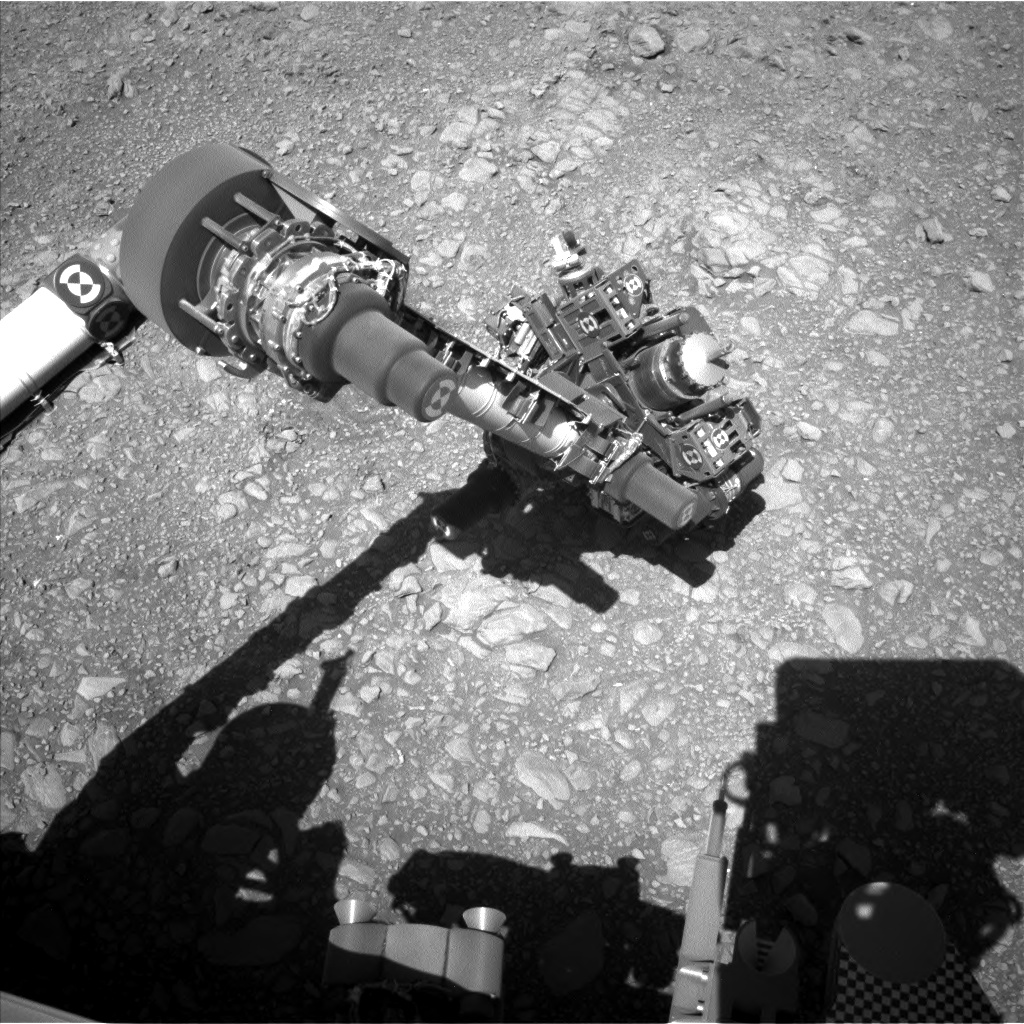 Nasa's Mars rover Curiosity acquired this image using its Left Navigation Camera on Sol 1954, at drive 214, site number 68