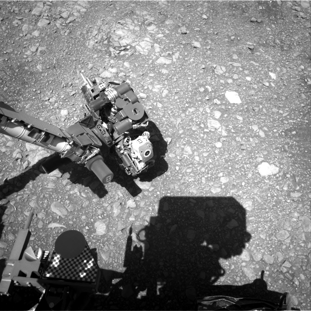 Nasa's Mars rover Curiosity acquired this image using its Right Navigation Camera on Sol 1954, at drive 214, site number 68