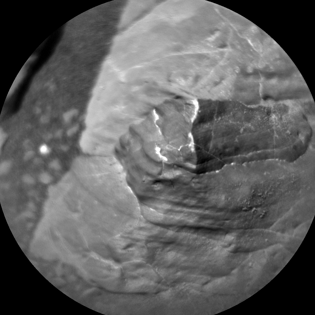Nasa's Mars rover Curiosity acquired this image using its Chemistry & Camera (ChemCam) on Sol 1955, at drive 214, site number 68
