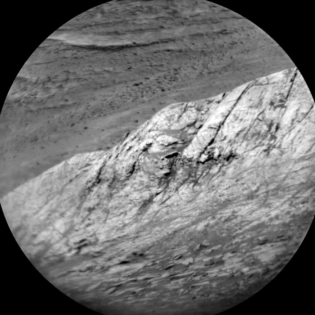 NASA's Mars rover Curiosity acquired this image using its Chemistry & Camera (ChemCam) on Sol 1955