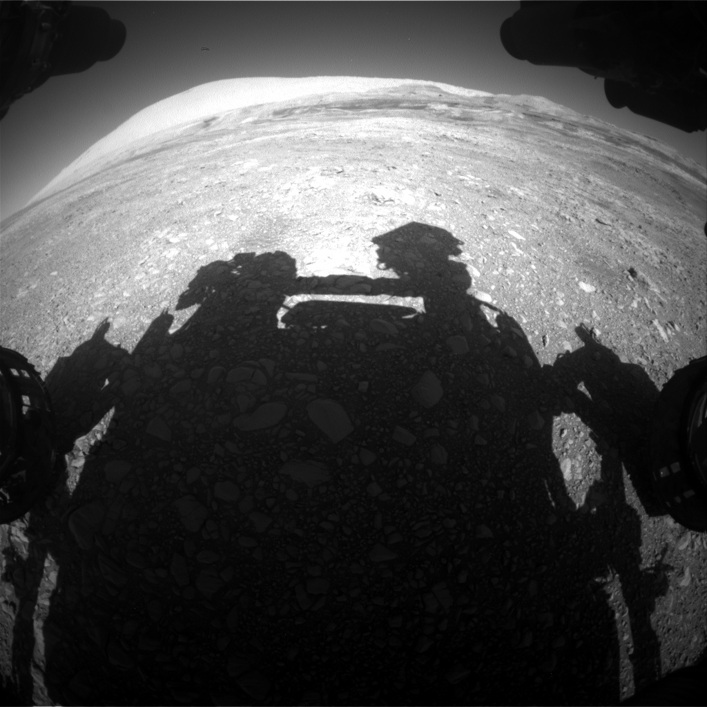 Nasa's Mars rover Curiosity acquired this image using its Front Hazard Avoidance Camera (Front Hazcam) on Sol 1957, at drive 214, site number 68