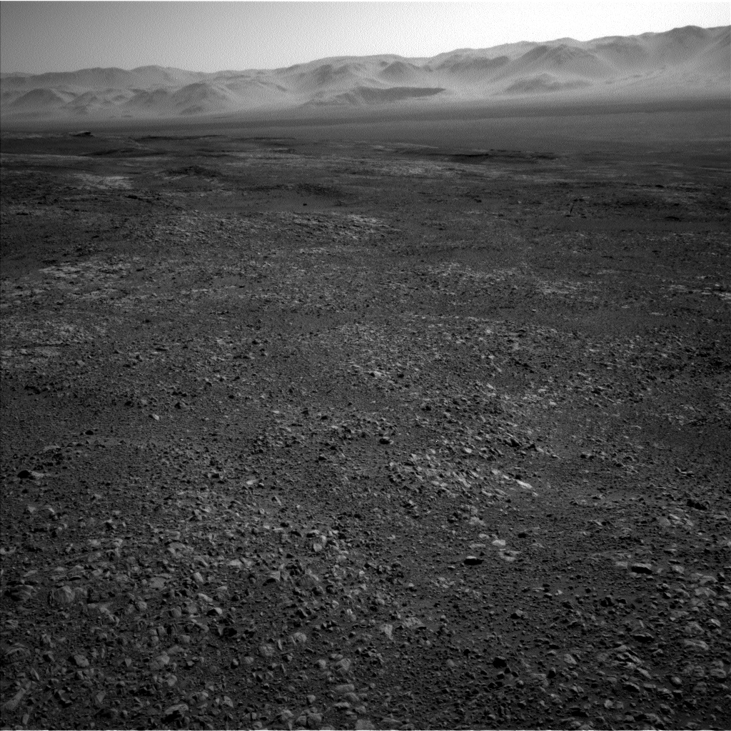 Nasa's Mars rover Curiosity acquired this image using its Left Navigation Camera on Sol 1957, at drive 214, site number 68