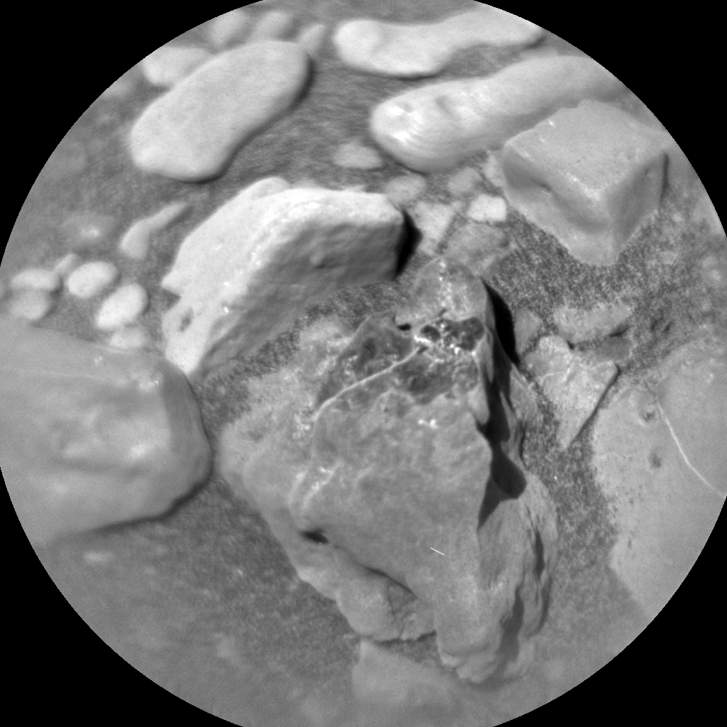 Nasa's Mars rover Curiosity acquired this image using its Chemistry & Camera (ChemCam) on Sol 1957, at drive 214, site number 68