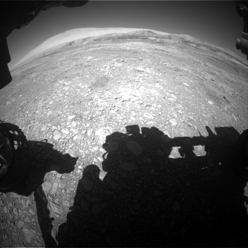 Nasa's Mars rover Curiosity acquired this image using its Front Hazard Avoidance Camera (Front Hazcam) on Sol 1958, at drive 214, site number 68