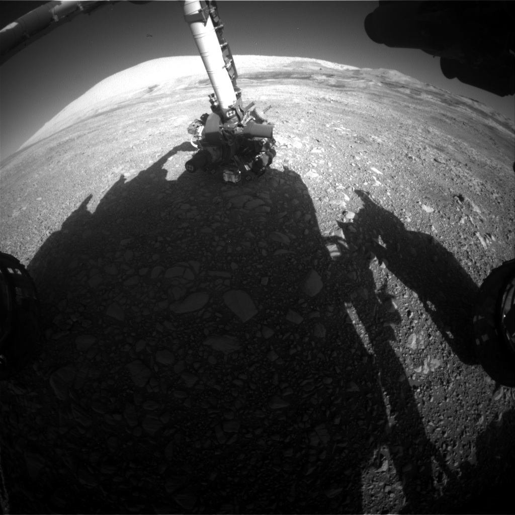 Nasa's Mars rover Curiosity acquired this image using its Front Hazard Avoidance Camera (Front Hazcam) on Sol 1959, at drive 214, site number 68
