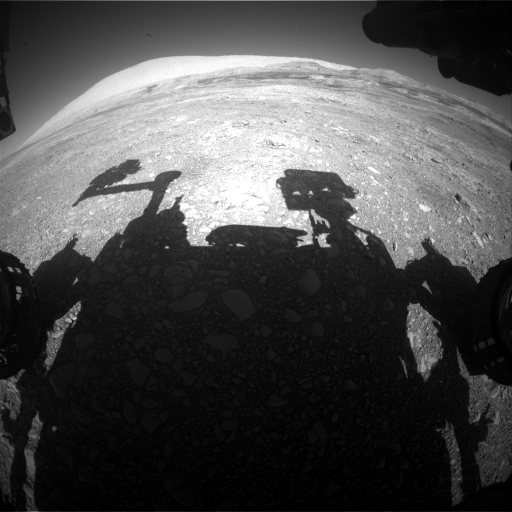 Nasa's Mars rover Curiosity acquired this image using its Front Hazard Avoidance Camera (Front Hazcam) on Sol 1960, at drive 214, site number 68